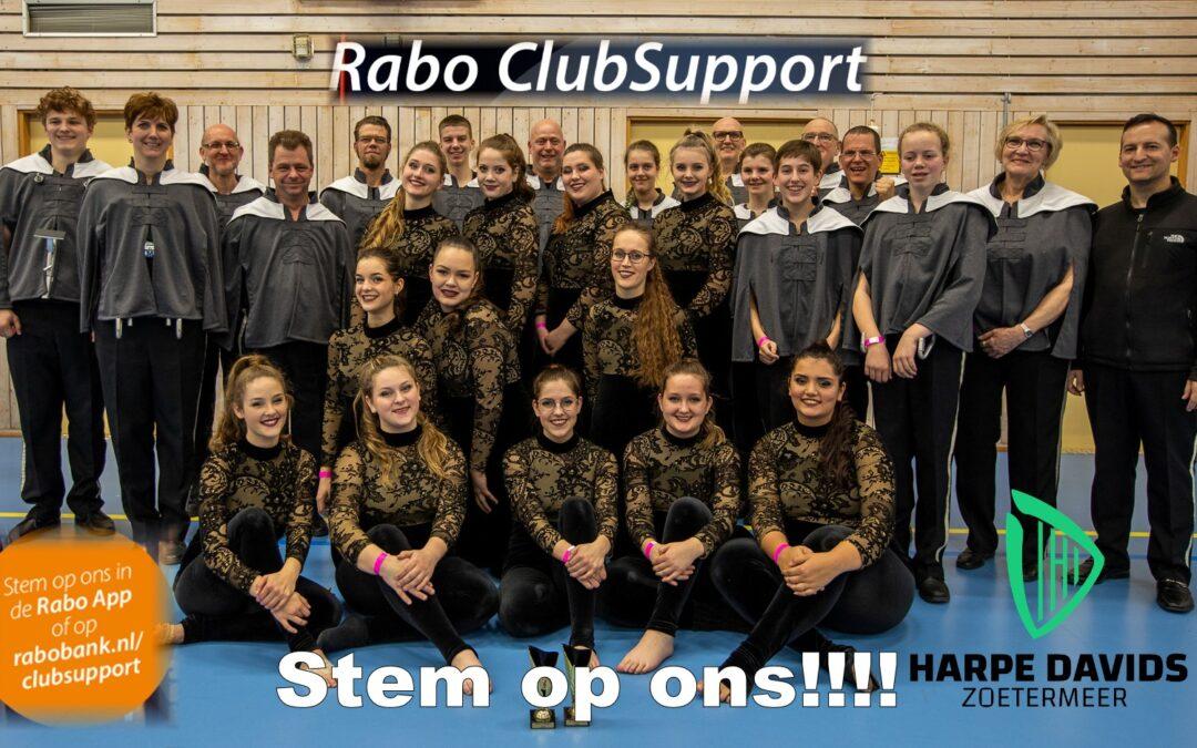 Stem op Harpe Davids bij Rabo Clubsupport